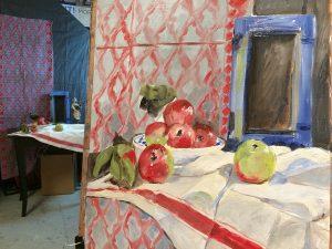 Inloopatelier schilderen bij Onderneming Op Kunstgebied