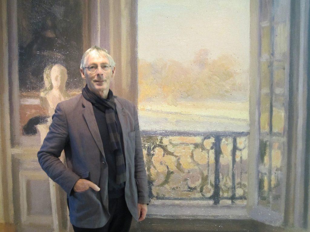 Eric Bos docent Kunstbeschouwing bij OOK