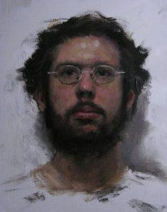 Ulrich Suberg zelfportret