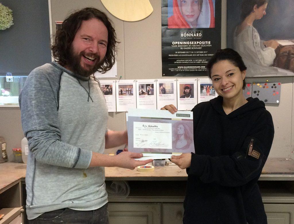 Certificaat en bijscholing bij Onderneming Op Kunstgebied