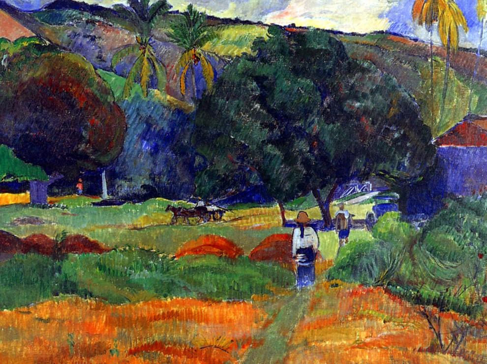 de klank van de rietfluit - Paul Gauguin