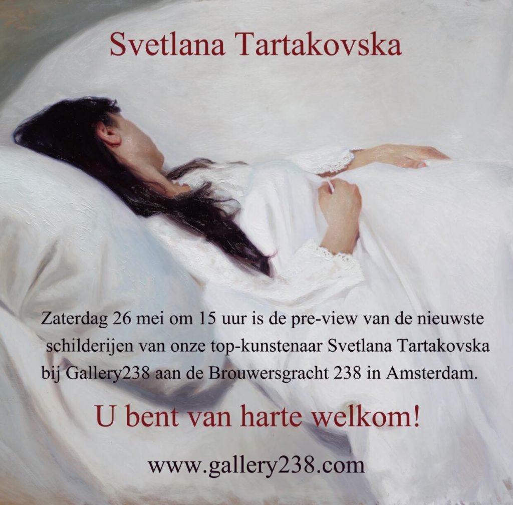 Tentoonstelling Svetlana Tartakovska