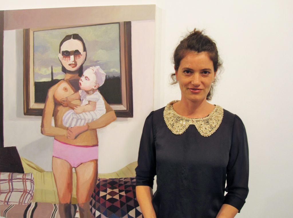 Helen Verhoeven bij OOK - foto: Liesbeth Honders