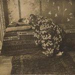 over (schilderen naar) foto's - Breitner meisje in kimono
