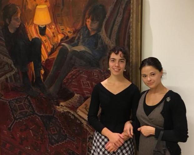 Anna Maria en Svetlana Tartakovska - werk Quintus Collectie