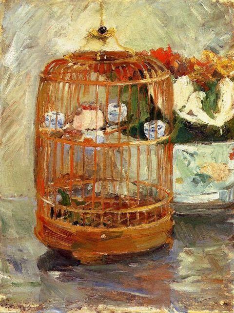 Schilderen als Berthe Morisot bij OOK - La Cage -