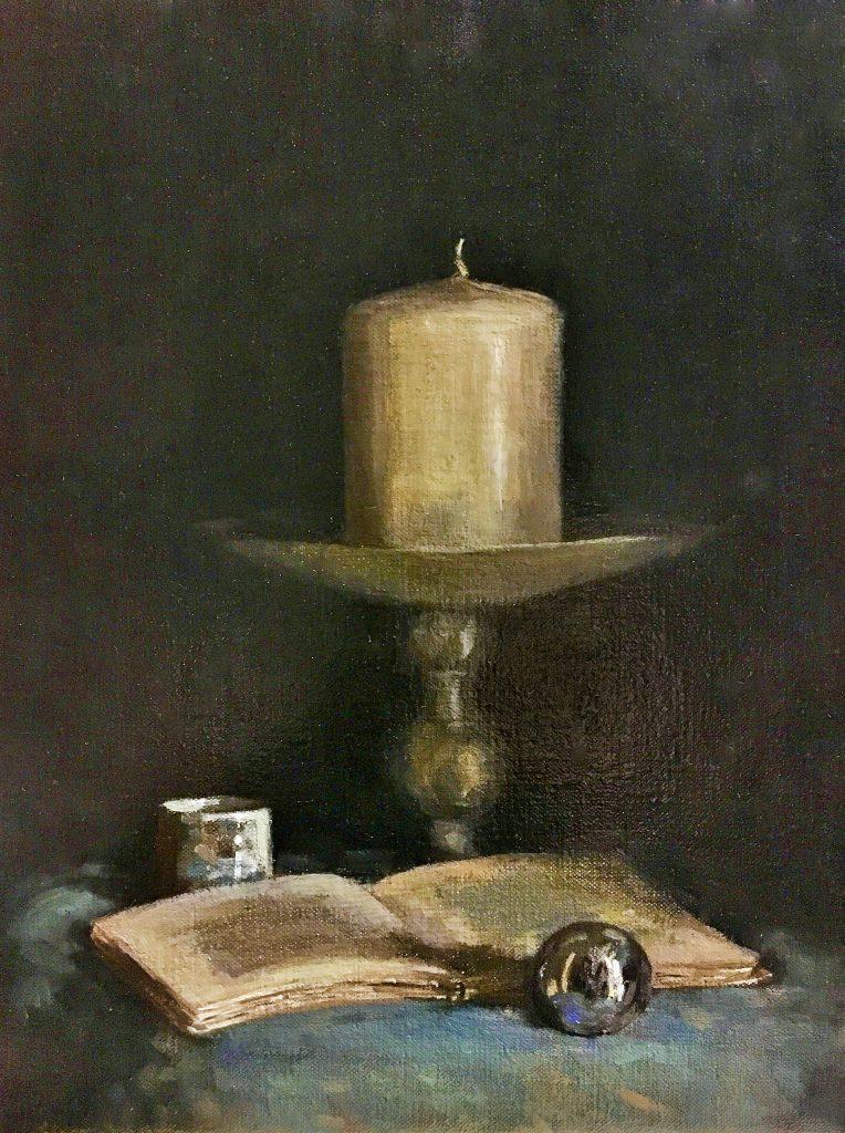 Unieke Special Glas en Glans schilderen - Karla Miranda