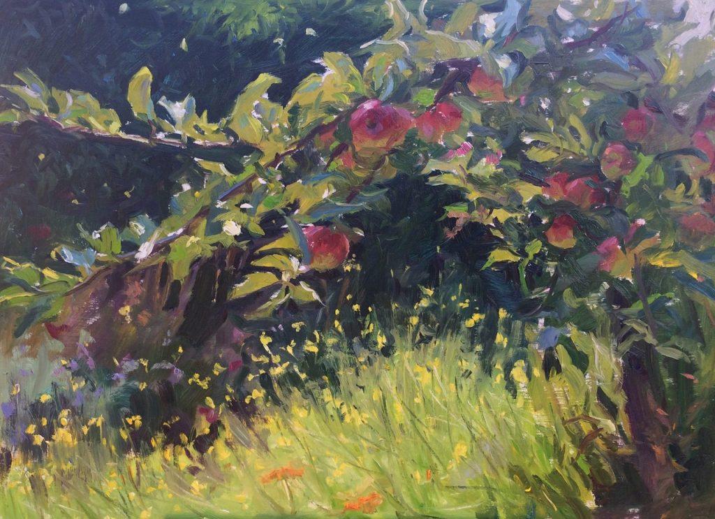 schilderij van Anna Maria Vargiu - Kijk op Kleur bij OOK