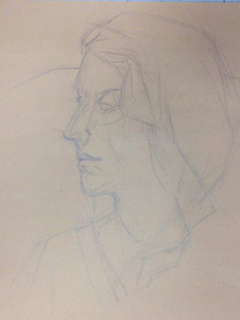 tekenlessen Anna Maria Vargiu bij OOK