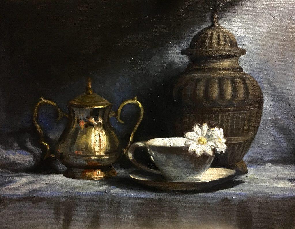 Karla Miranda, Special glas en glans schilderen bij OOK