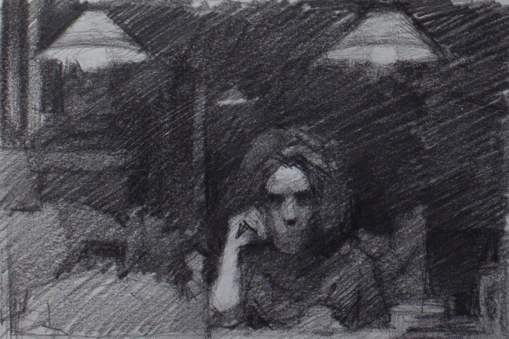 tekening Anna Maria Vargiu - Jong Talent bij OOK