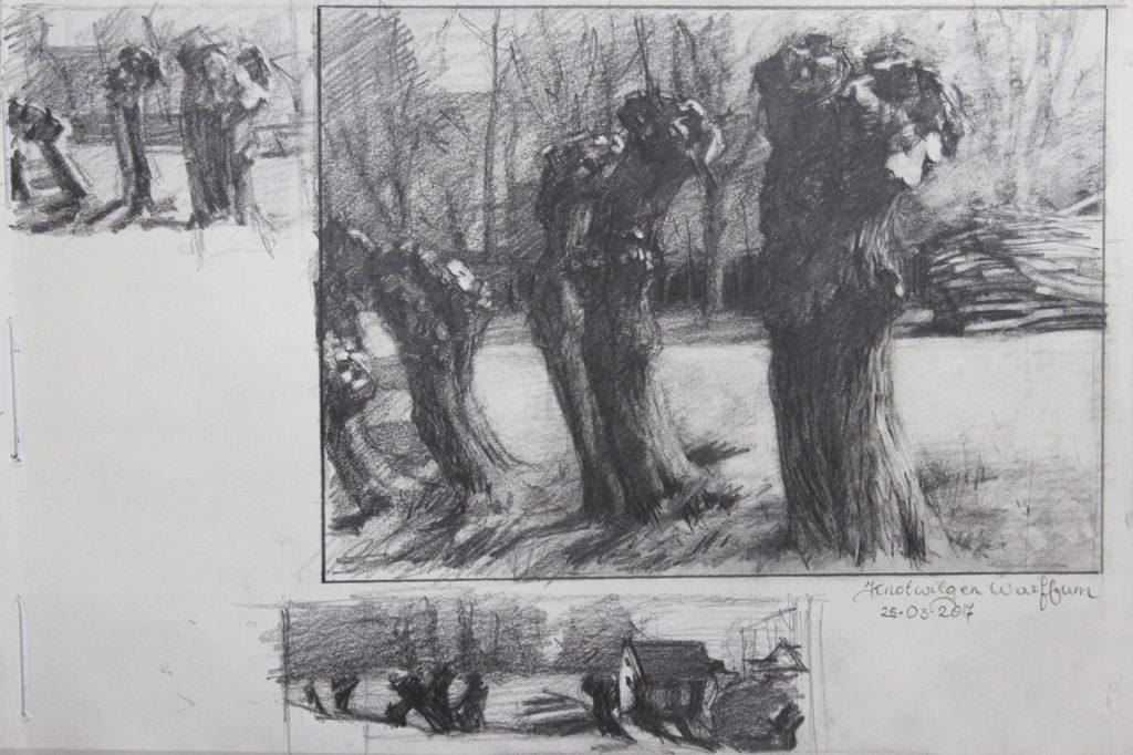 tekening Anna Maria Vargiu - de functie van de toonwaarden - bij OOK