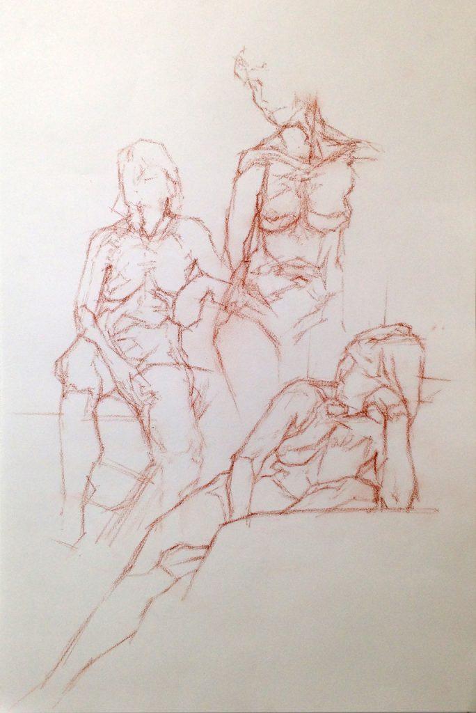 tekenlessen over vorm Meindert Wiertsema bij OOK