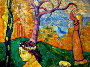 Schilderen als Émile Bernard en de betekenis van kleur in zijn werk, bij OOK