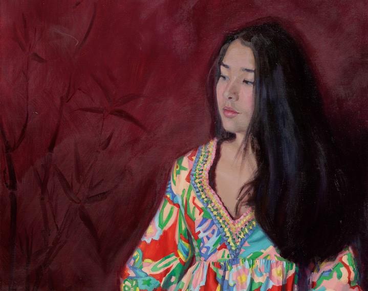 Carolien van Olphen detail 'Beauty of the orient'