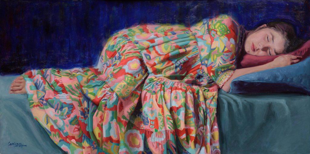 Carolien van Olphen, Colourful Dreams, geeft les bij OOK