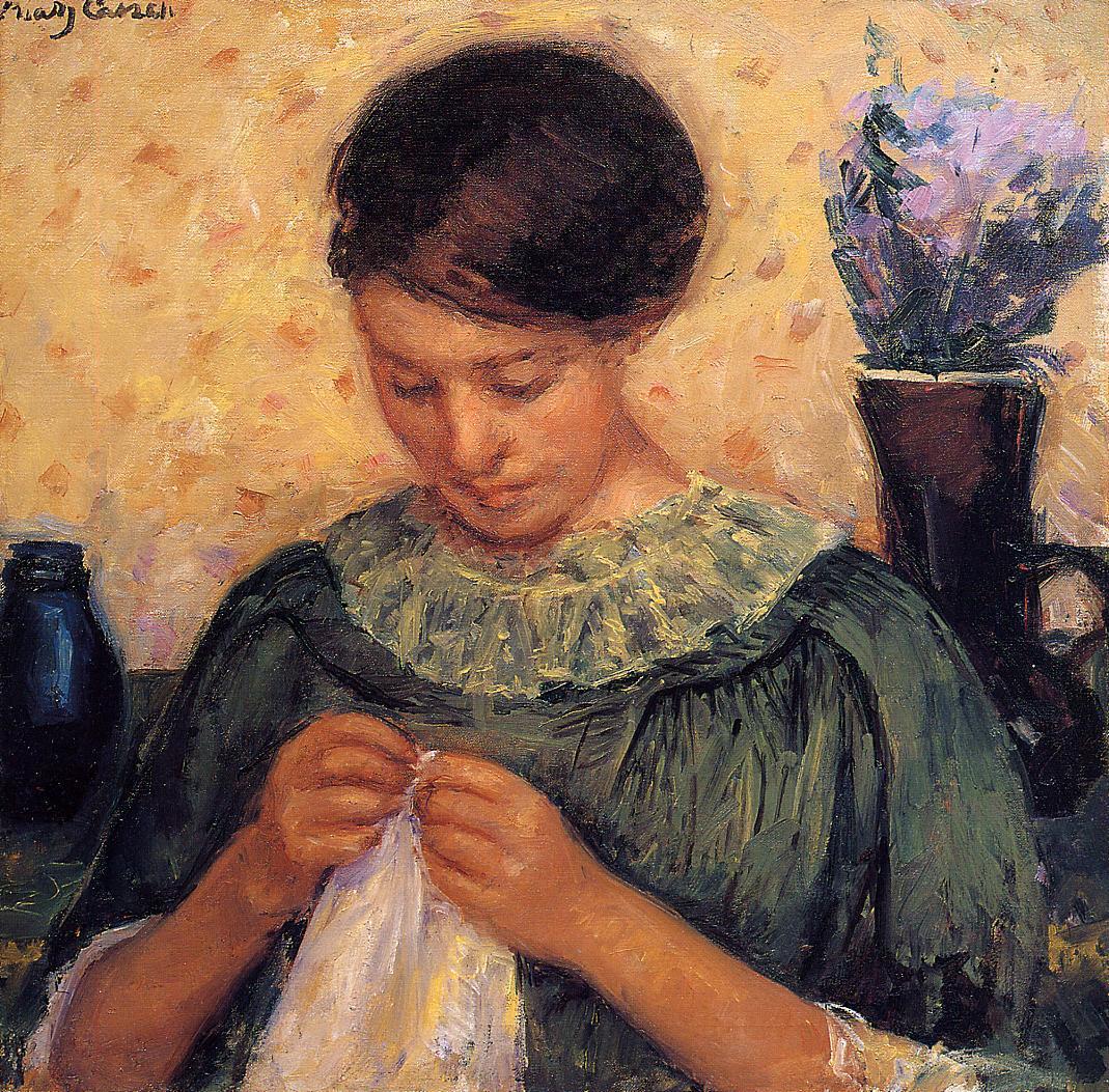 schilderen als Mary Cassatt