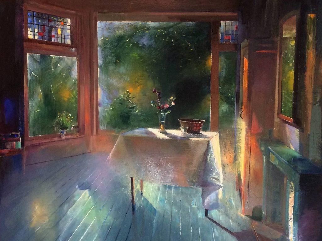 Simeon Nijenhuis geeft: 'Een betoverend stilleven of interieur schilderen' bij OOK