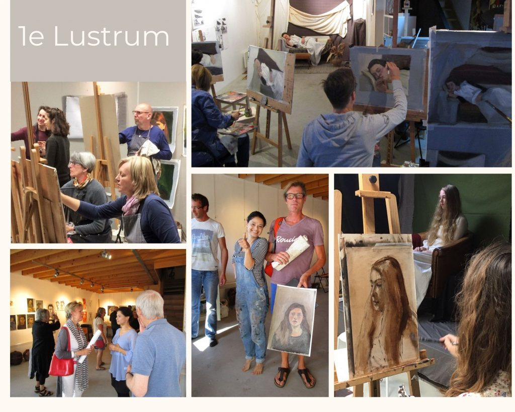 1e Lustrum Onderneming Op Kunstgebied